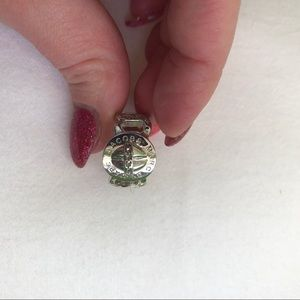 Marc by Marc Jacobs Chain Rhinestone Ring